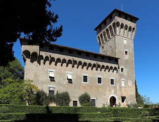 The Villa del Trebbio, the Medici villa in the Mugello area