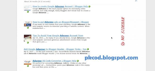 Blogger Sidebar