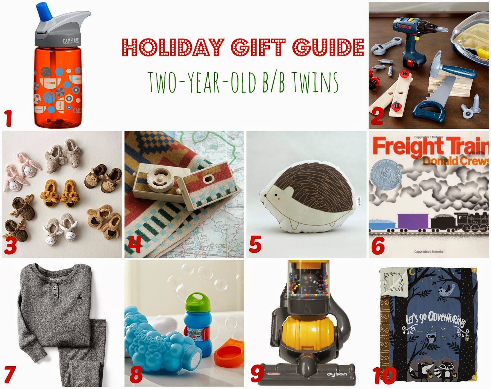 Twin Talk Blog Holiday Gift Guide Two Year Old Twins