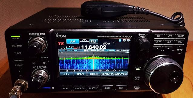 ICOM 7300 -VA3AGV VE3SP Amateur Radio Toronto Canada