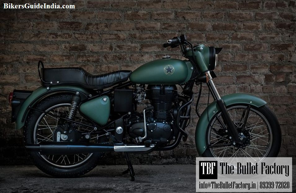 This Royal Enfield Electra 350 modified