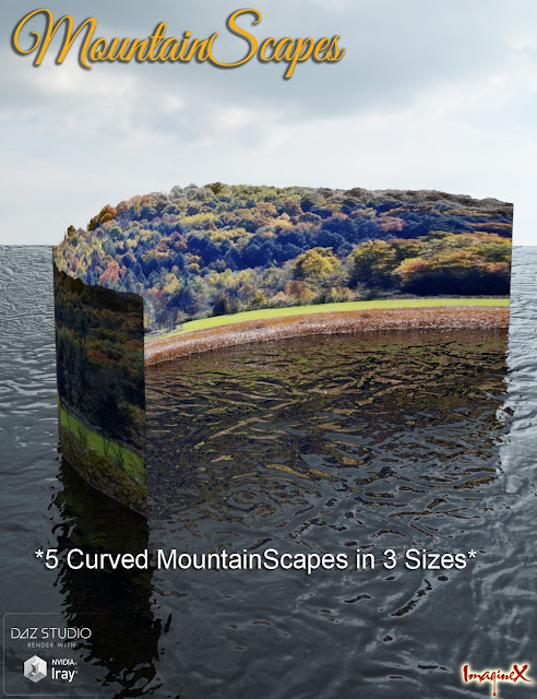 MountainScapes Backdrops