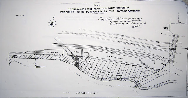 1872-3 Wadsworth & Unwin: Plans of Ordnance Lands . . . Proposed to be Purchased by the G.W. Ry. Company, Plan B