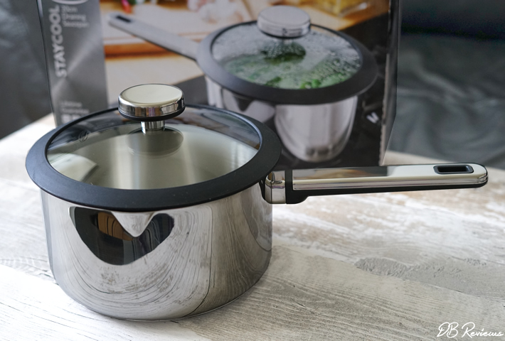 Stellar Stay Cool 20cm Draining Saucepan