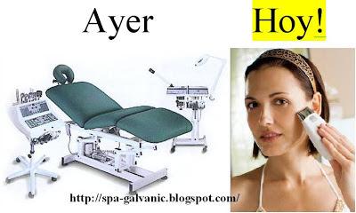 tratamiento ageLOC galvanic spa