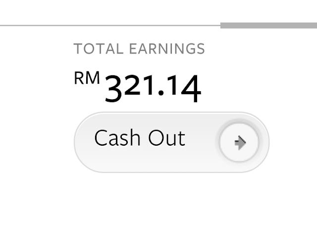 Alhamdulillah...Pendapatan Nuffnang RM321.14