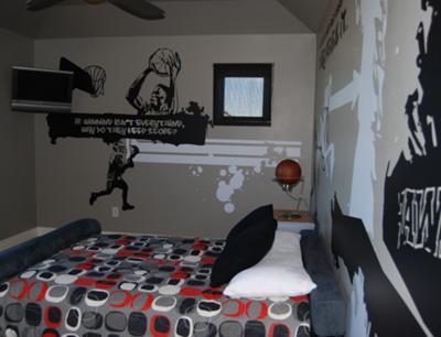 21+ Graffiti Bedroom Decorating Ideas