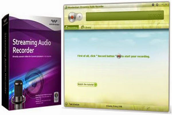 Wondershare Streaming Audio Recorder 2.2.2 + Patch + Multilingual Download