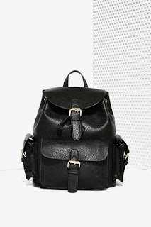 Hitch a Ride Vegan Leather Backpack