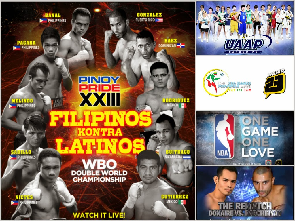 ABS CBN Sports Continues To Bring The Best And Latest Sporting Events To  The Filipino In 2014