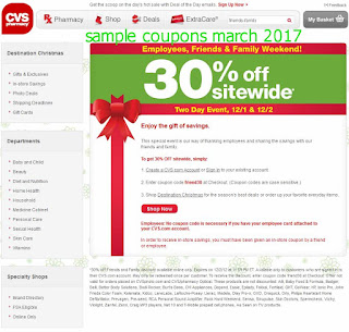 Cvs Pharmacy coupons march