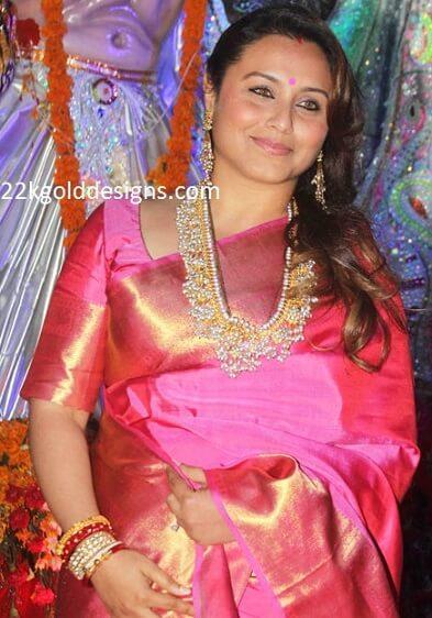 Rani Mukherjee in Cluster Pearl Haar