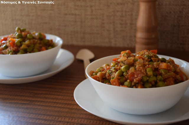 Recipe of the Day: redness peas with vegetables and quinoa