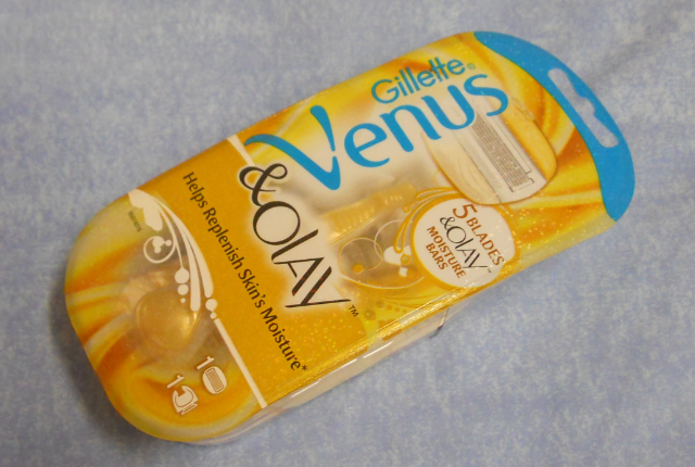 Gillette venus and olay razor