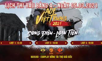 AoE Song Điêu - Loạn Tiễn: Lịch thi đấu ngày 5/3/2021 - bảng A khởi tranh