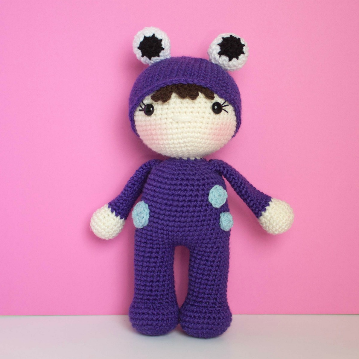 boo from monsters inc. | Crochet: Amigurumi | Knitted dolls ... | 1200x1200