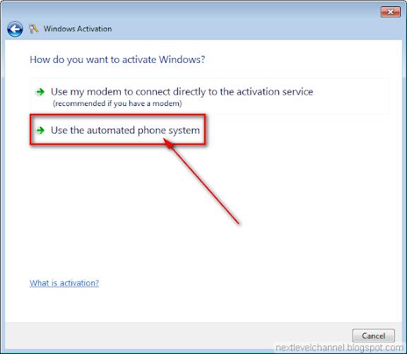 activate windows 7 offline product key