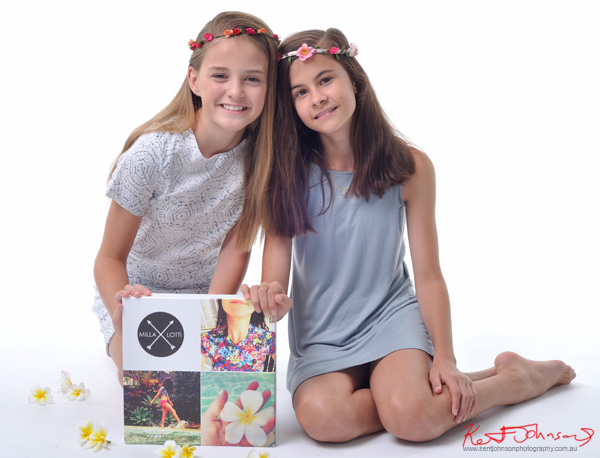 Friendship and flowers, Tween to Teen Fashion - Look-book & Branding Photography