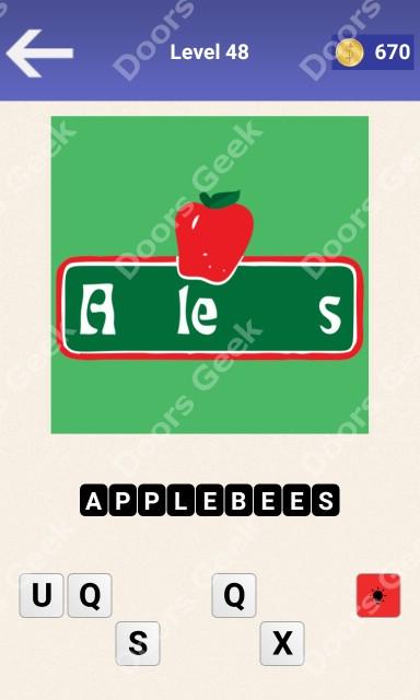 Guess the Restaurant Level 48 Answer ~ Doors Geek