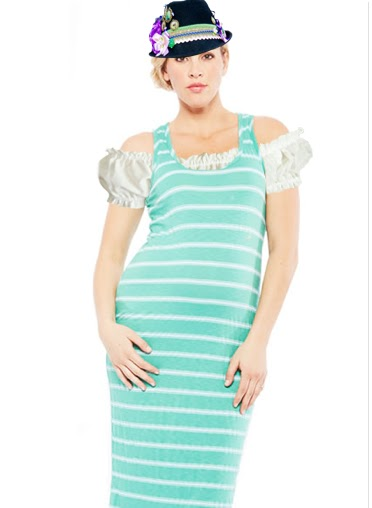 d89beb01aefb3 Any sleeveless knit dress will do and any dirndl blouse can take that dress from  ready-to-wear to German momma-to-be! We are going to be coming out with our  ...