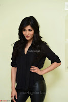 Shruti Haasan Looks Stunning trendy cool in Black relaxed Shirt and Tight Leather Pants ~ .com Exclusive Pics 025.jpg