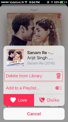 How to delete particular song form your iPhone