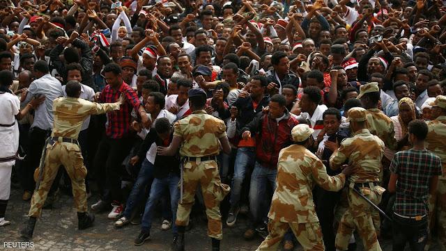 اضطرابات في إثيوبيا تسفر عن سقوط 669 قتيلا