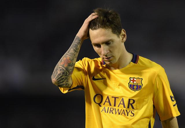 Pertandingan Terburuk Messi Sepanjang Karrier