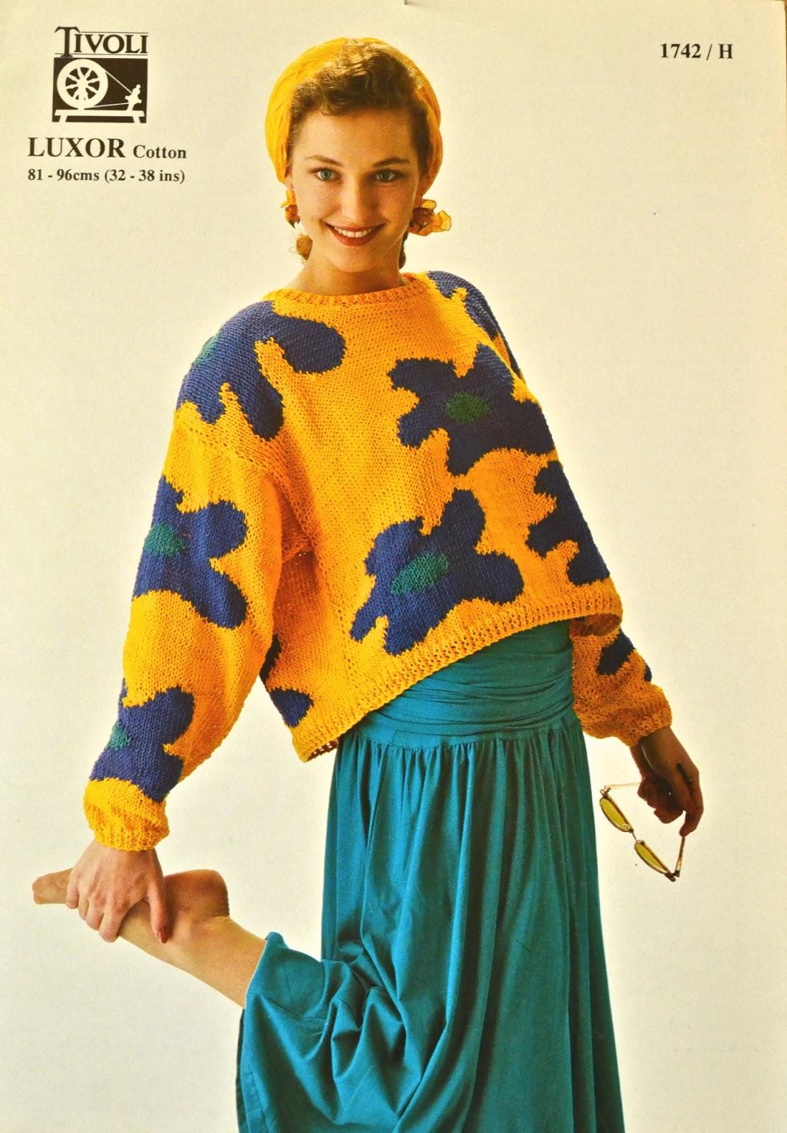 Knitting Novice Vintage 80s Knitting Patterns