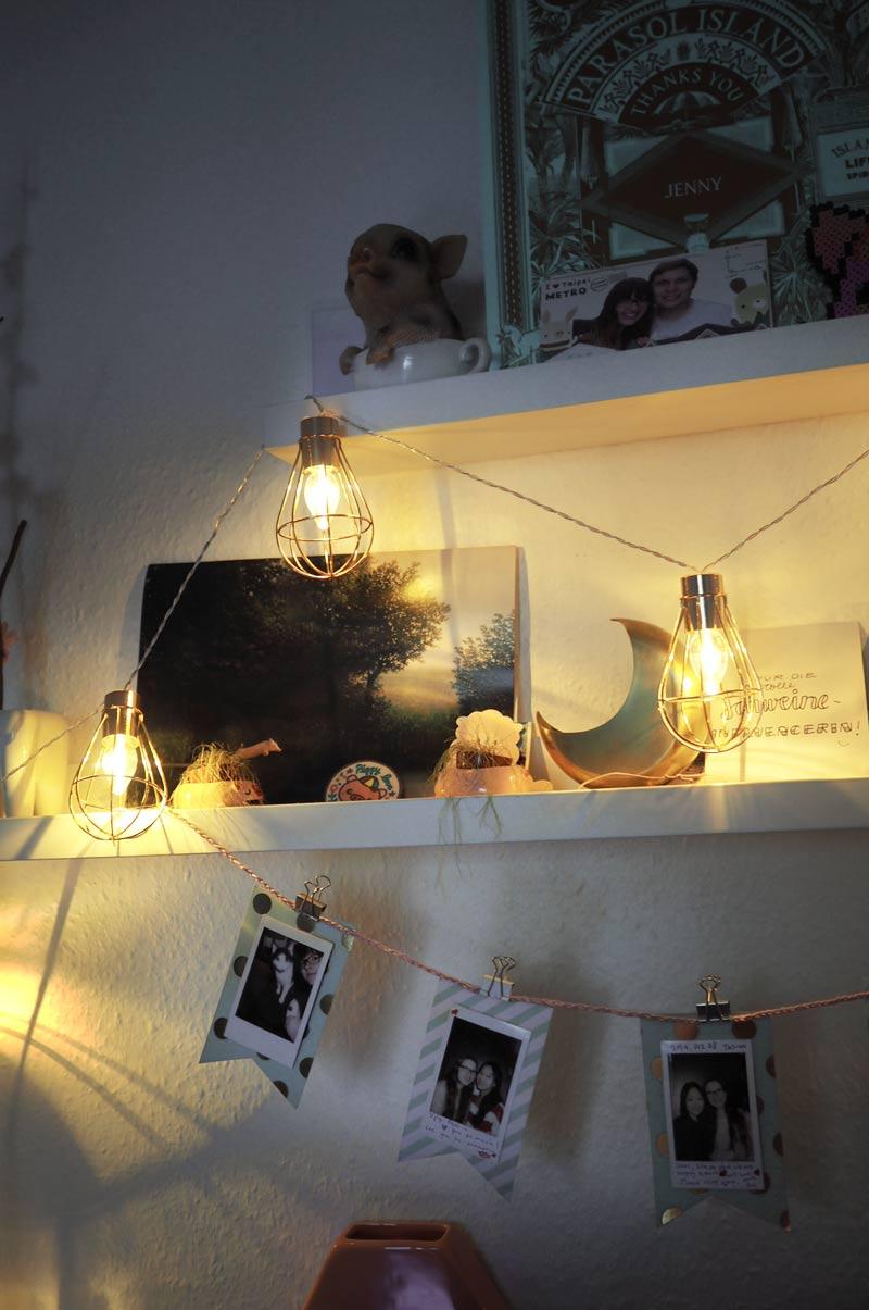 LED-Lichterkette mit Metalldraht von Tchibo