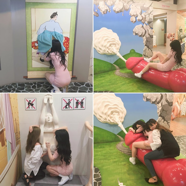 An Unusual Erotic Theme Park Exists In Korea And It Is Called, 'The Love Island'!