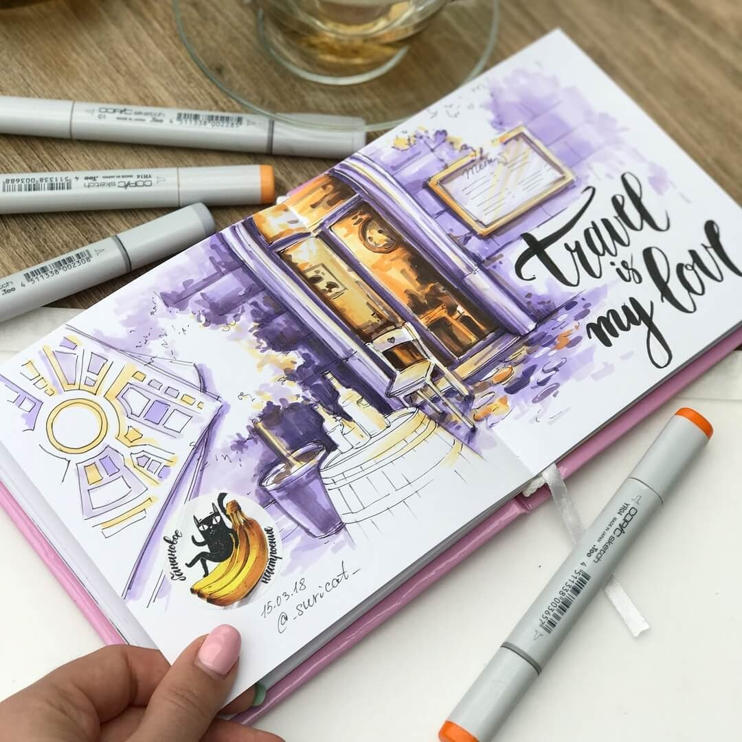 09-Colors-Experiment-Ekaterina-Surikat-Interior-Design-Architecture-and-Travel-Journals-Drawings-www-designstack-co