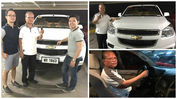 Brothers repay their father's kindness by giving him a brand new SUV
