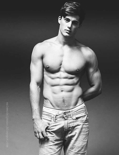 handsome shirtless men