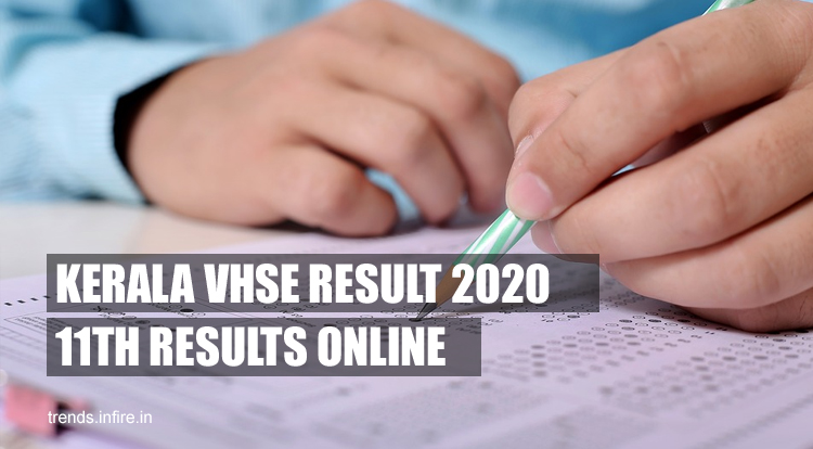 Kerala VHSE FIRST YEAR Results 2021