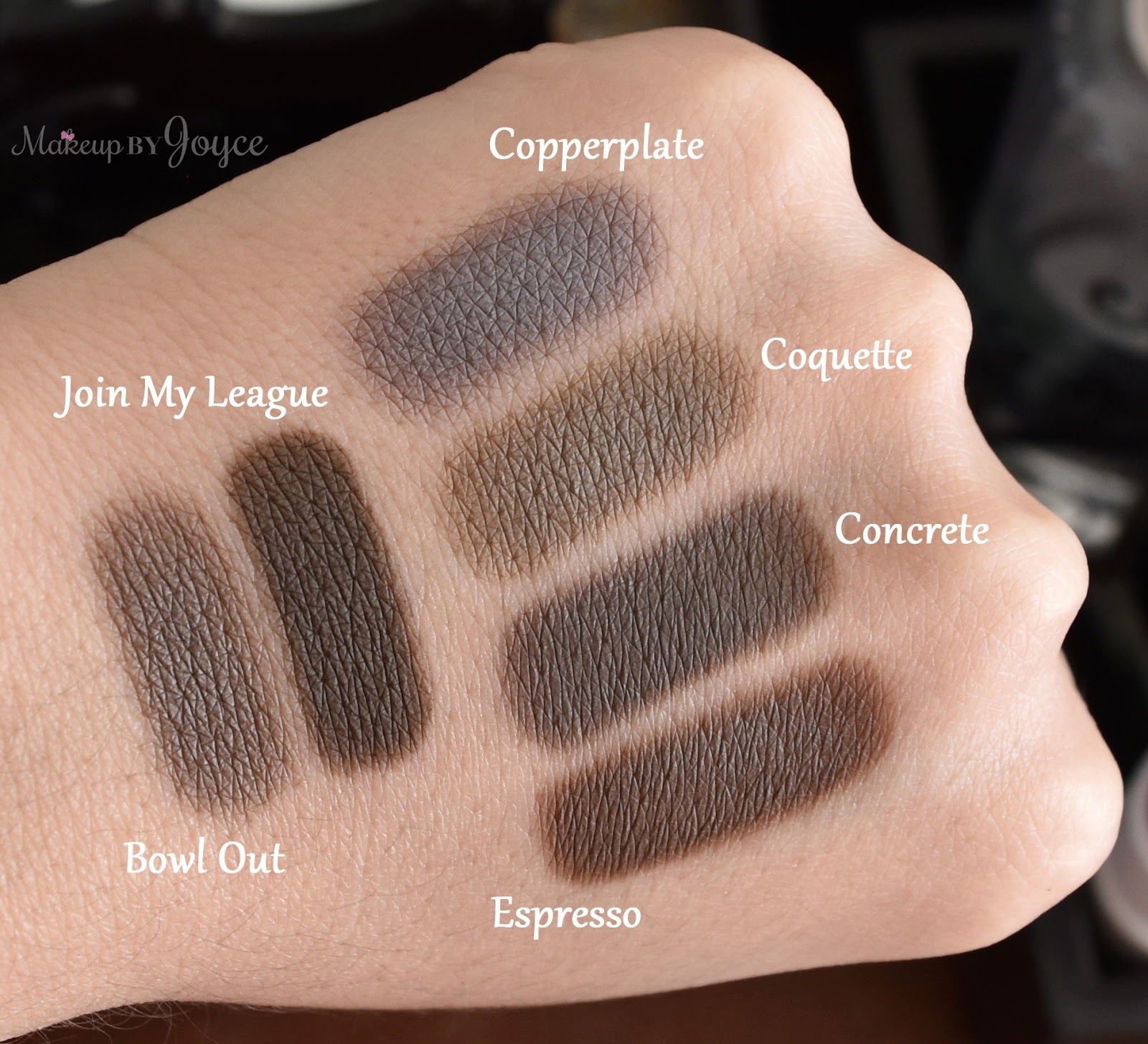 MakeupByJoyce ** !: Swatches + Comparison: MAC Itu0026#39;s a ...