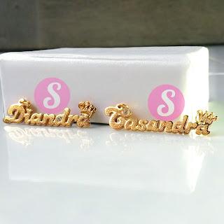 kalung nama lapise emas grafir - diandra casandra