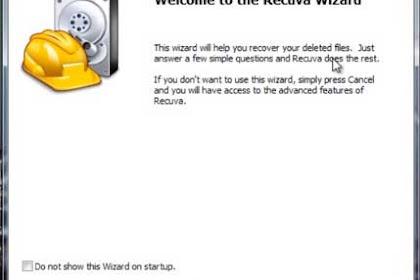 Cara Mengembalikan Data Yang Terhapus di FlashDisk