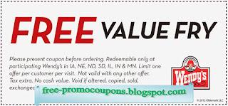 Free Printable Wendys Coupons