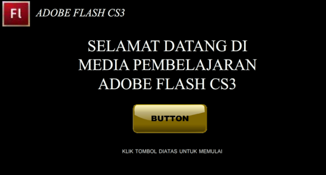 Cara Membuat URL LINK ke Blog di Adobe Flash Professional