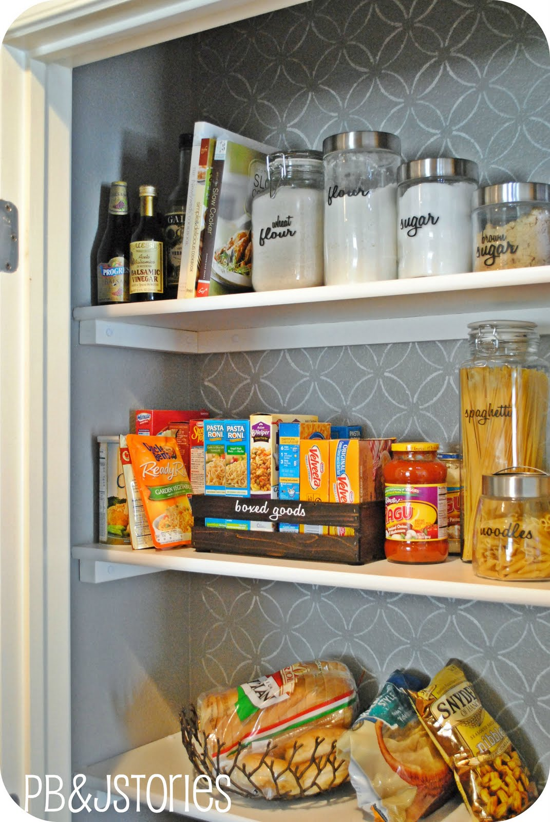 How To Add A Pantry Your Kitchen White Bench Pbjstories Reveal