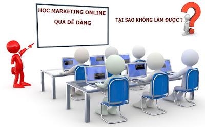 Giải thích sự thất bại của doanh nghiệp trong marketing online