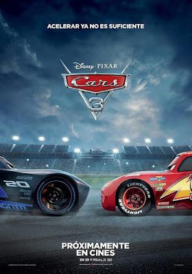 Cartel de Cars 3