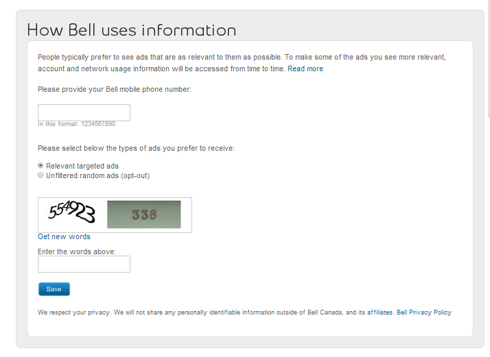 Broadband Traffic Management: Bell Canada will Use Network
