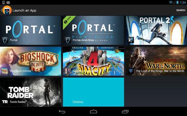 cara mudah bermain pc games di android