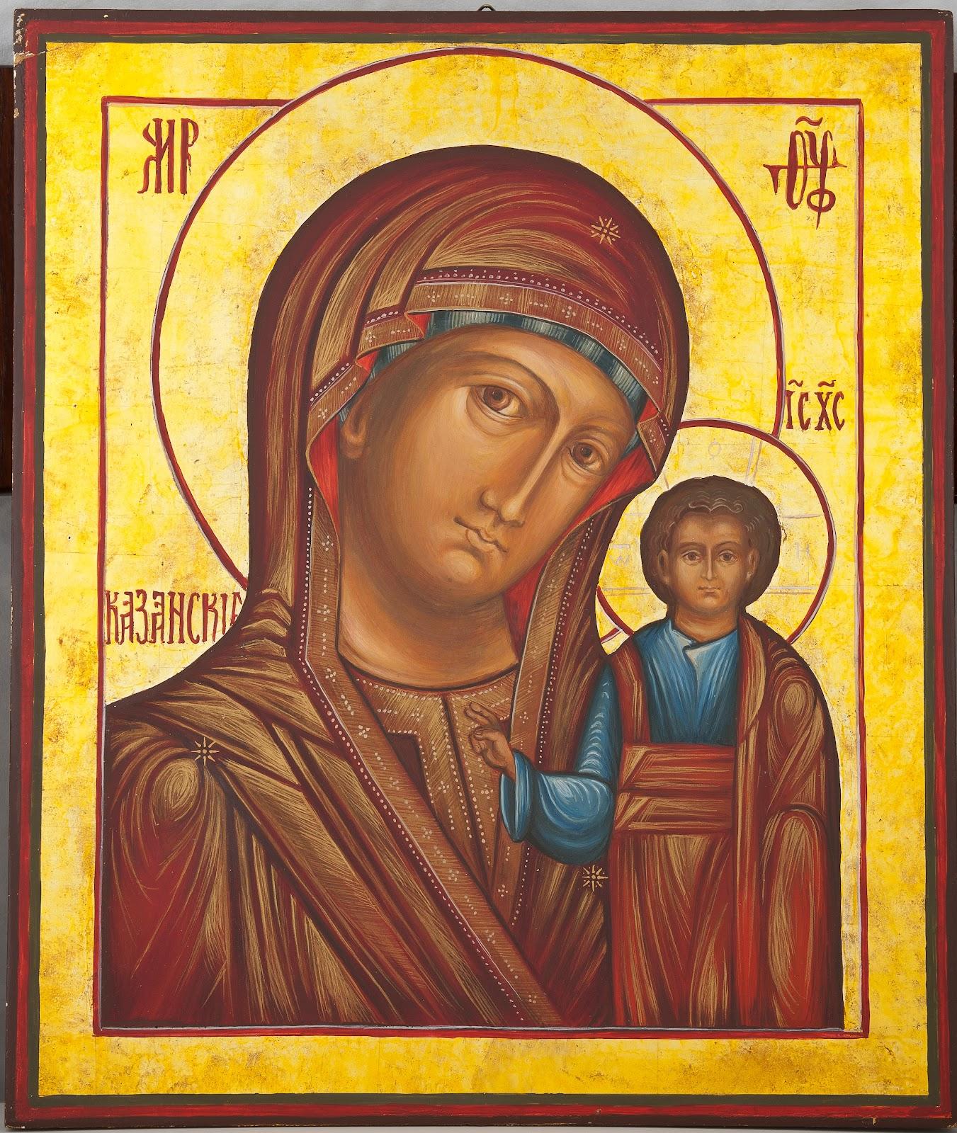 Nowość IKONY: Matka Boska Kazańska (Holy Mary from Kazan) EV61