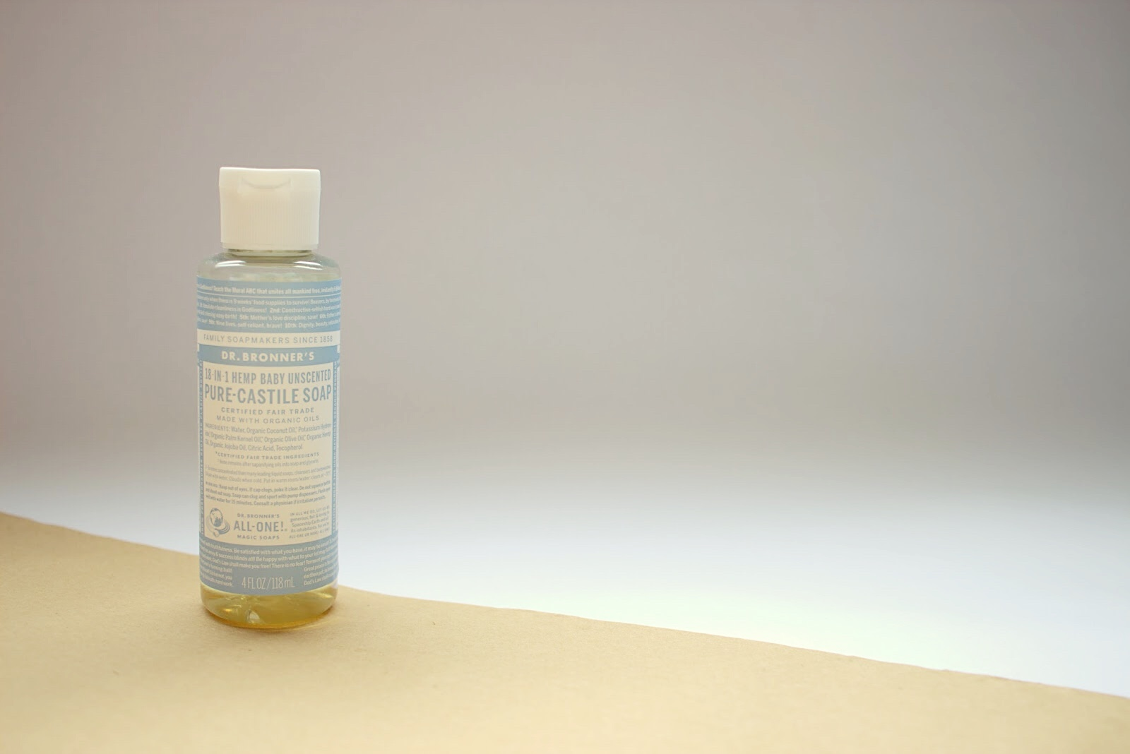 Dr Bronner Liquid Castile Soap, natural soap, non toxic soap, natural beauty, green beauty