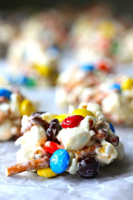 Sweet and Salty Popcorn Cookies