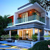 1991 square feet 3 BHK contemporary house plan
