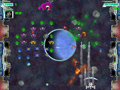 Mini Game Space Invaders 2